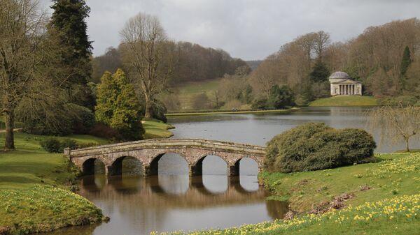 Сад поместья Сторхед в графстве Уилтшир в Великобритании