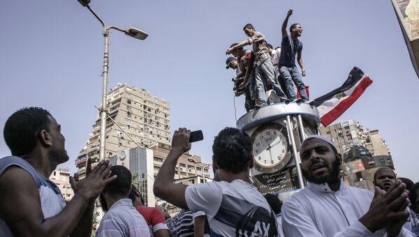 Акции протеста в Каире. Архивное фото