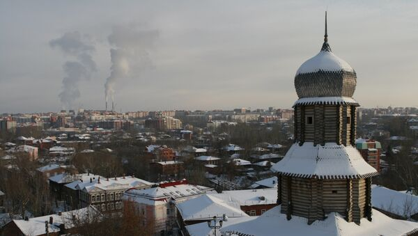 Томск. Архивное фото