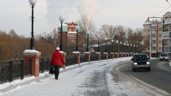 Томск поздней осенью, фото из архива