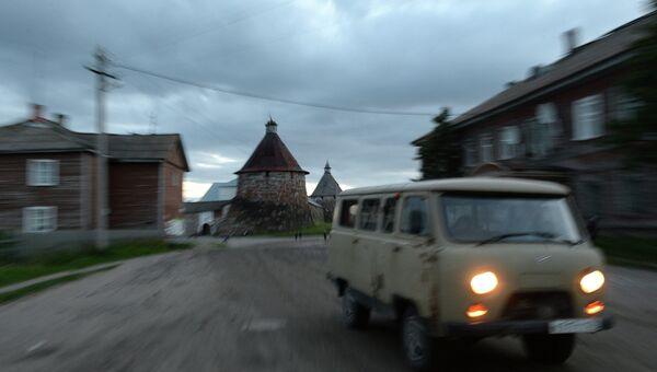 Соловецкий архипелаг. Архивное фото