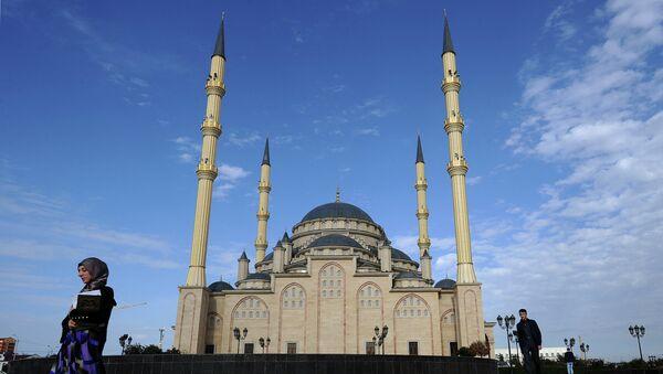 Центральная мечеть им. Ахмата Кадырова Сердце Чечни в Грозном