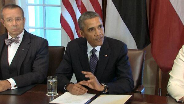 Обама о ближайших планах США в отношении Сирии