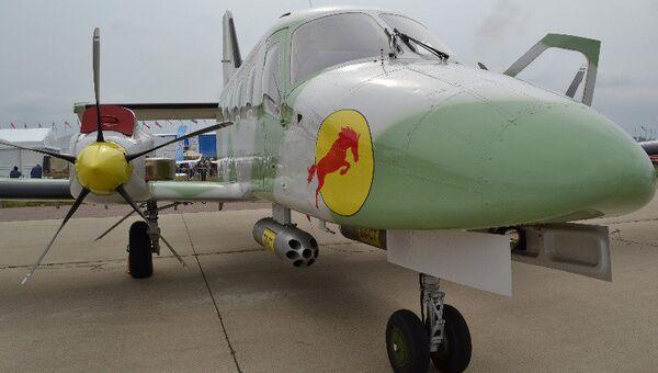 Легкий многоцелевой двухмоторный самолет Рысачок на МАКСе-2013