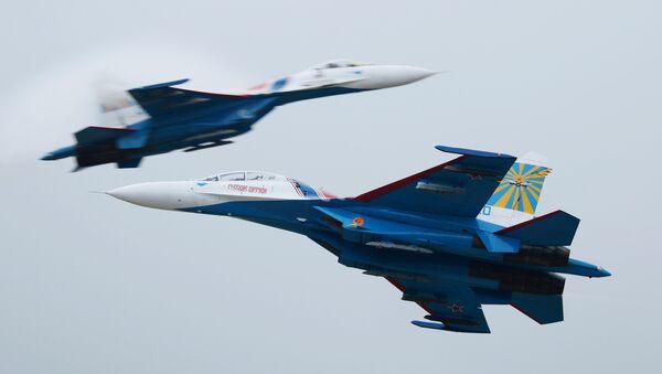 Демонстрационные полеты на авиасалоне МАКС-2013