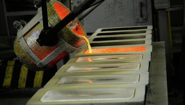 Красноярский завод цветных металлов (Красцветмет). Архивное фото