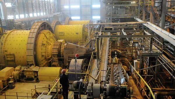 Золотодобывающая компания Полюс. Архивное фото
