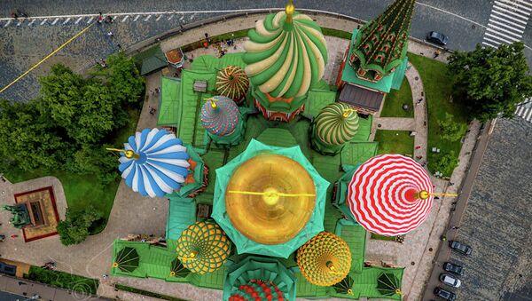 Храм Василия Блаженного. Архивное фото