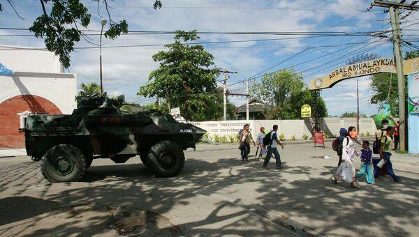 Ситуация в городе Замбоанга, Филиппины