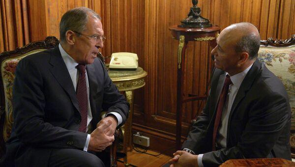 Встреча глав МИД России и Ливии в Москве