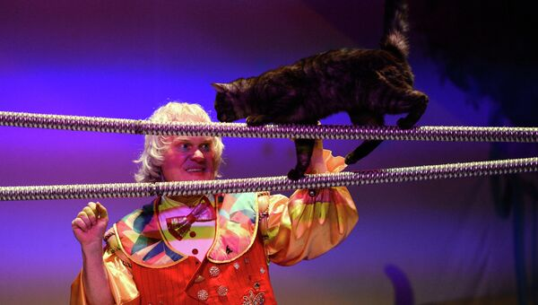 Театр кошек Куклачева. Архивное фото