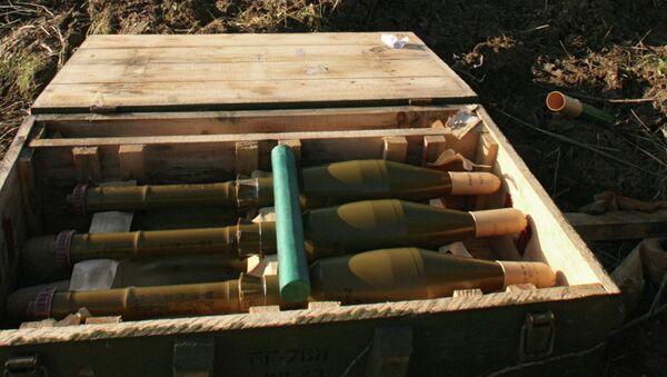 Выстрелы для гранатомета РПГ-7. Архивное фото