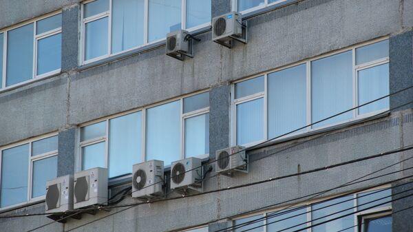 Фасады домов в Новосибирске
