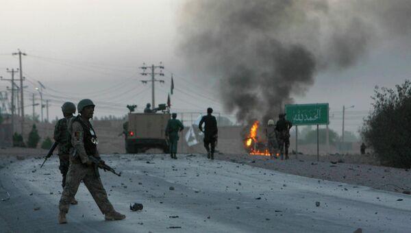 Взрыв рядом со зданием американского консульства в городе Герат на западе Афганистана