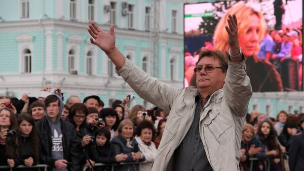 Актер Александр Блок на открытии фестиваля Амурская осень, фото с места события