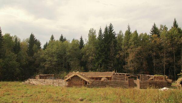 Хутор в Подмосковье воссоздан по образу поселения 10-го века
