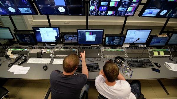 Комплекс телеканала Общественное телевидение России (ОТР) в телецентре Останкино