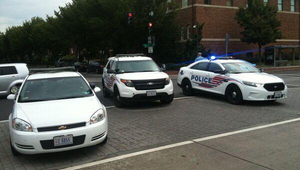 Полиция работает на месте стрельбы в Вашингтоне. Архивное фото