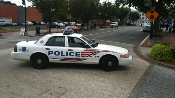 Полиция работает на месте стрельбы в Вашингтоне, фото с места событий