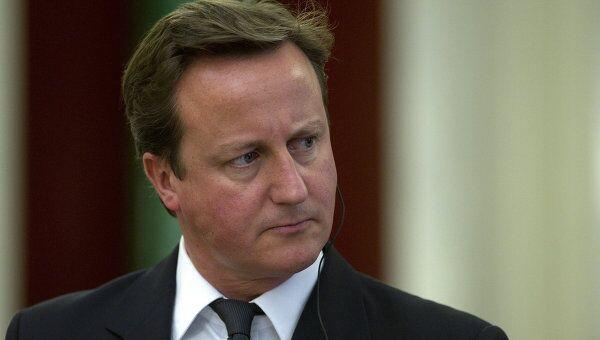 Премьер-министр Великобритании Д.Кэмерон. Архивное фото
