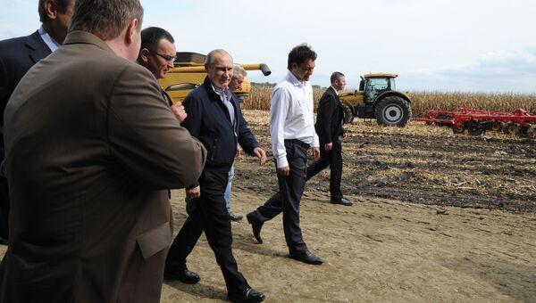Рабочая поездка Владимира Путина в Южный федеральный округ. Фото с места события