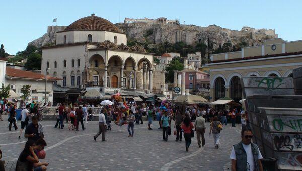 Ситуация в Греции. Архивное фото