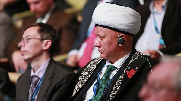 Председатель ЦДУМ России Альбир Крганов на 10-м юбилейном заседании Международного дискуссионного клуба Валдай