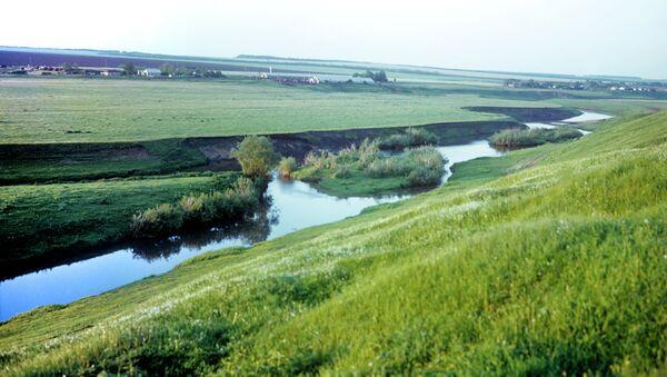 Куликово поле. Брод реки Дон