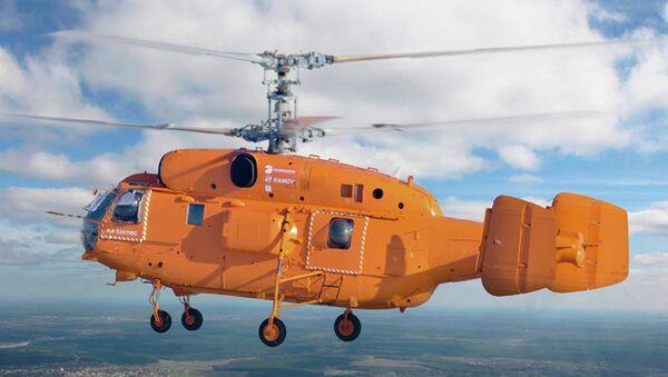 Противопожарный вертолет Ка-32А11ВС. Архивное фото