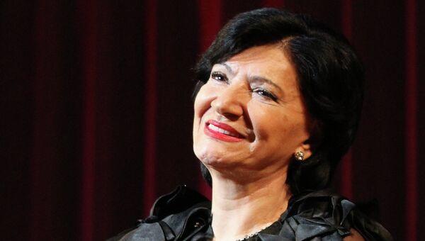 Грузинская певица Нани Брегвадзе. Архивное фото