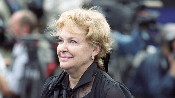 Народная артистка РСФСР, актриса Ирина Константиновна Скобцева