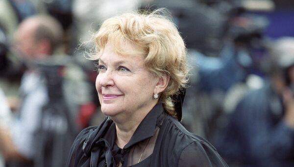Народная артистка РСФСР, актриса Ирина Константиновна Скобцева. Архивное фото