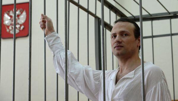 Бывший директор Дома культуры Мошенский Илья Фарбер в суде, архивное фото
