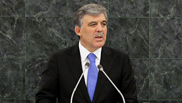 Бывший президент Турции Абдулла Гюль. Архивное фото