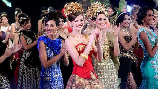 Конкурс красоты Мисс Мира на Бали
