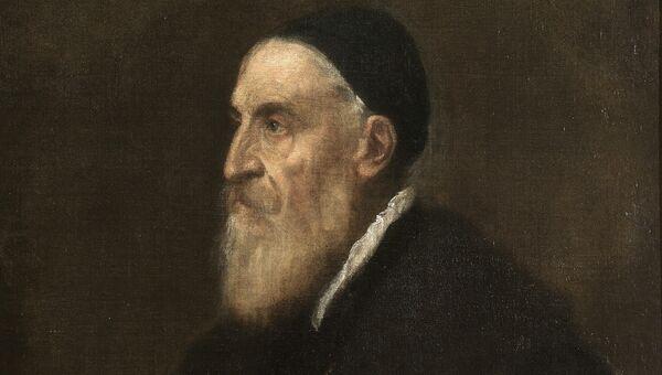 Тициан Вечеллио. Автопортрет. 1566