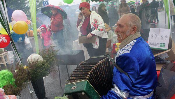 Праздник в Томске, архивное фото