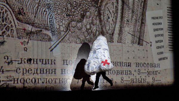 Постановка оперы Шостаковича Нос на сцене Метрополитен-опера