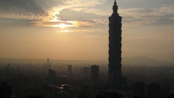 Тайбэй 101 - рукотворный символ Тайваня. Архивное фото