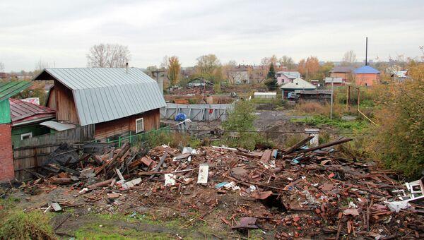 Вид на Камышенские переулки, архивное фото