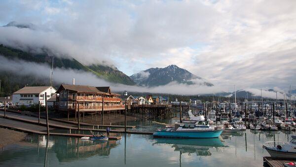 Гавань города Сьюард. Аляска
