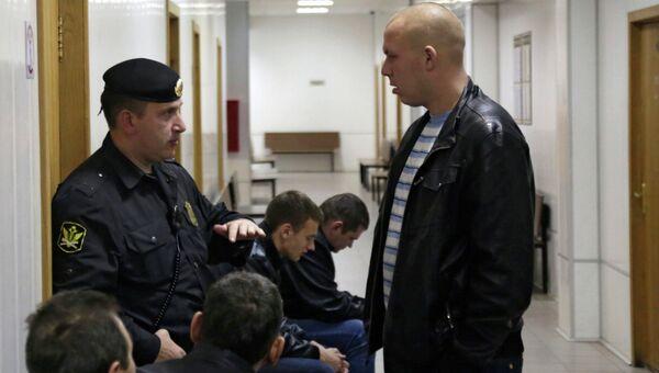 Заседание суда по задержанным в Бирюлево в Чертановском суде
