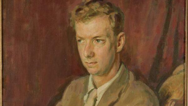 Генри Лэмб. Портрет Бенджамина Бриттена. 1945