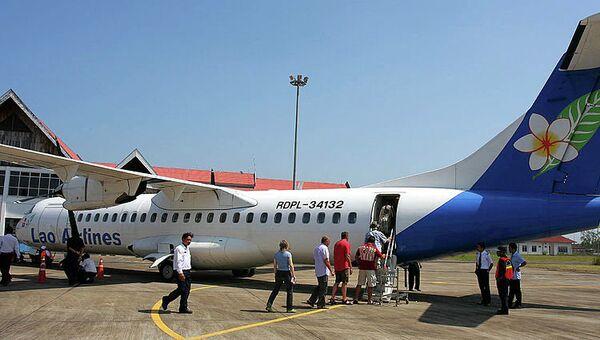 Самолет ATR 72 компании Lao Airlines. Архивное фото