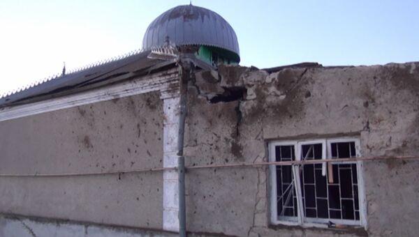 Взрыв у мечети в КБР. Фото с места события