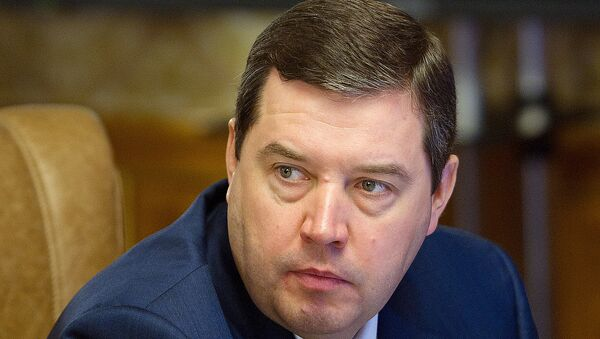 Бывший руководитель Федерального агентства по обустройству государственной границы РФ Дмитрий Безделов. Архивное фото