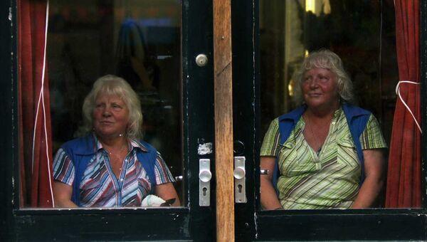 Сестры-близнецы Луиза и Мартина Фоккен. Архивное фото