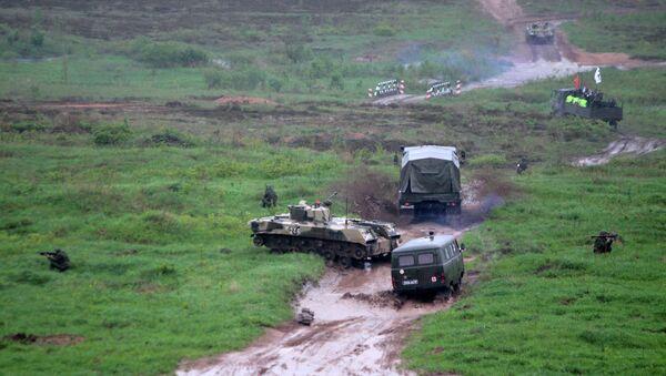 На военном полигоне в Псковской области прогремел взрыв. Архивное фото