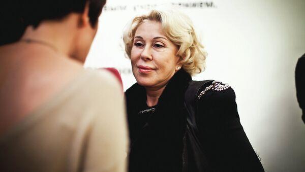 Российская и американская певица Любовь Успенская