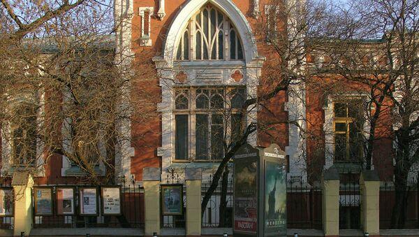 Государственный центральный Театральный музей им А.А. Бахрушина, архивное фото.
